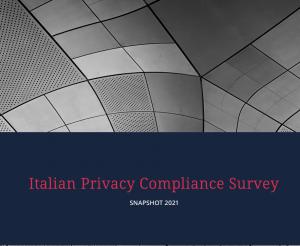 Italian Privacy Compliance Survey